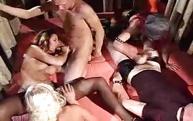 Group sex with eager dudes