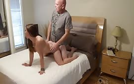 Hot daughter's cunt fucked