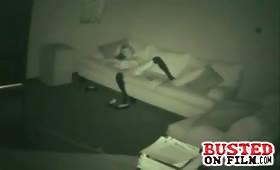 Masturbation scene with naughty slut