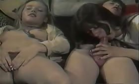 Vintage orgy with incest